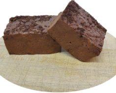 Brownie Batter Cut Fudge