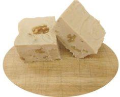 Maple English Walnut Cut Fudge