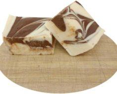Vanilla Chocolate Swirl Cut Fudge (2)